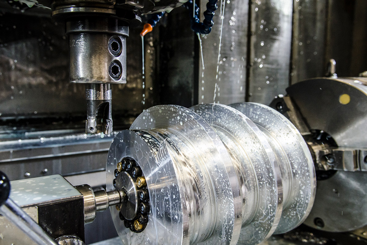 CNC Production Machining from Mearl's Machine Works in Kelowna, BC