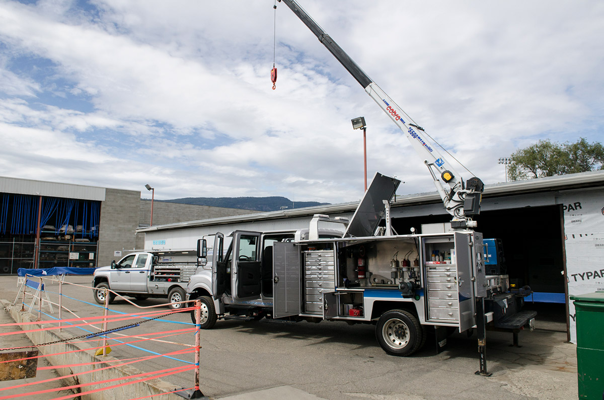 Okanagan Industrial Services and Repairs - Mobile Service trucks