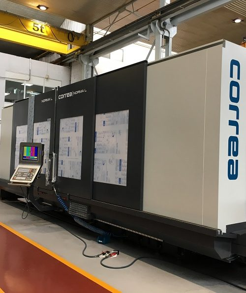 Correa Norma L 45 - The newest addition to the Mearl's Machine Works fleet of CNC machines is a Positional 5-Axis Traveling Column Milling Center, ready to take on your biggest and most challenging projects.