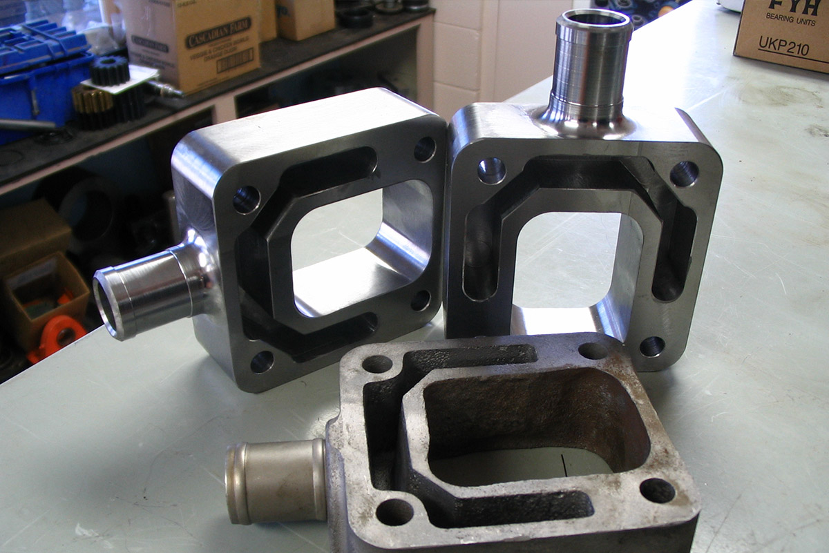 CNC Job Shop machining end products