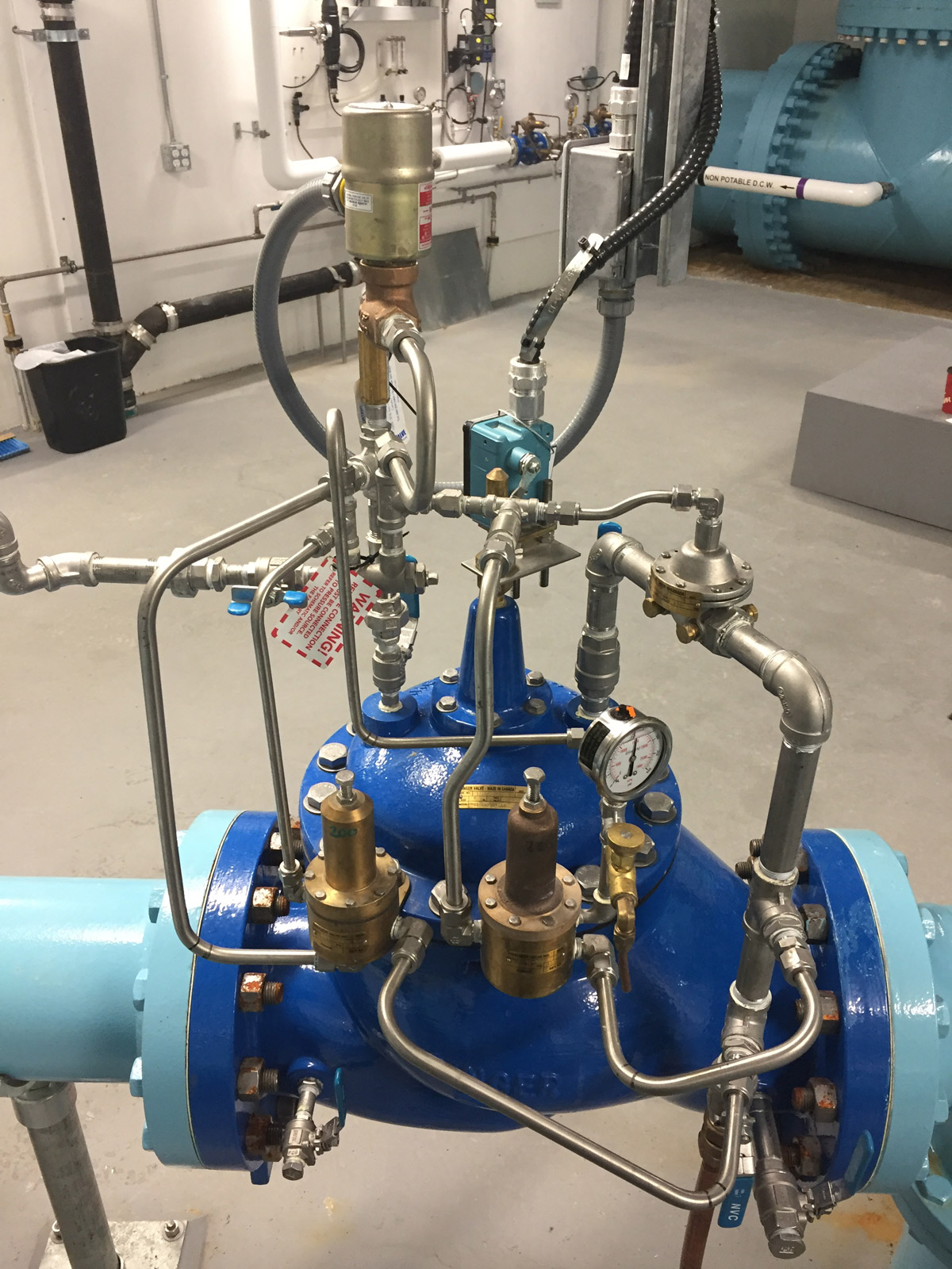 In-field valve and control system designed by Mearl's Machine Works