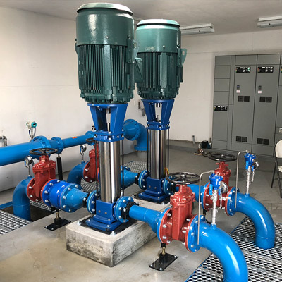 Water Industry - complete pump service and system designed by Mearl's