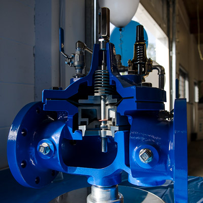 Valve and Control water industry solutions from Mearl's Machine Works