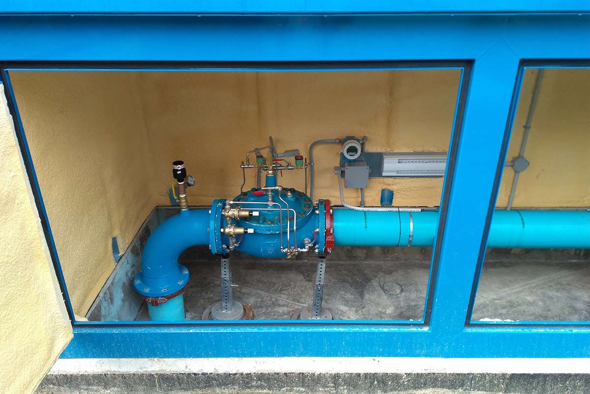 Above ground confined space pump system enclosure by Mearl's