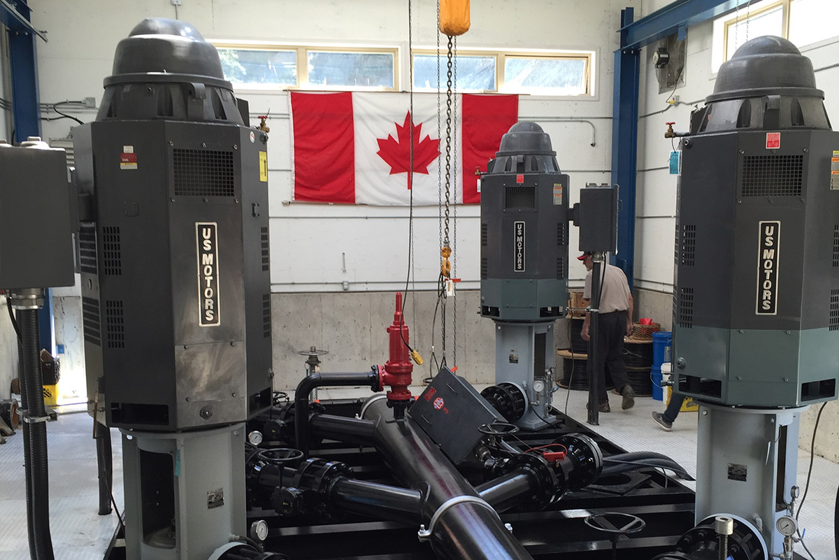 Pump Systems produced in Canada - Mearl's Machine Works